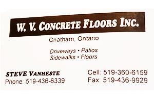 W.V. Concrete Floors